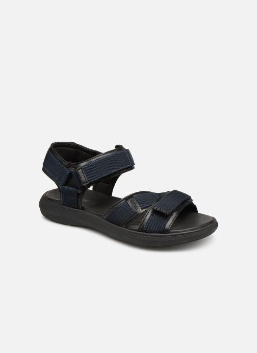 Sandaler Geox U GOINWAY B U926VB Sort detaljeret billede af skoene