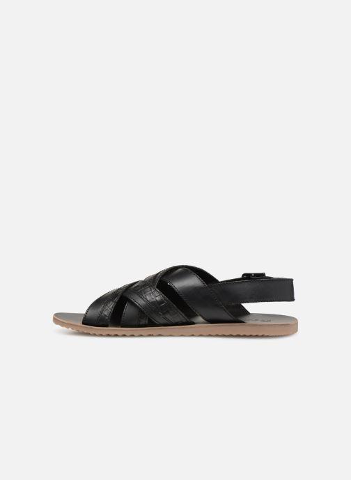 Sandales et nu-pieds Geox U ARTIE B U92V1B Noir vue face