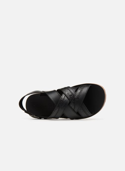Sandales et nu-pieds Geox U ARTIE B U92V1B Noir vue gauche