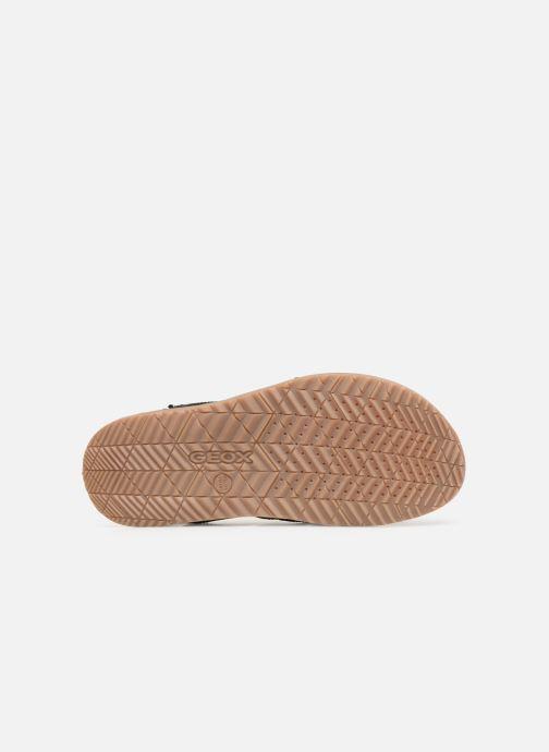 Sandales et nu-pieds Geox U ARTIE B U92V1B Noir vue haut