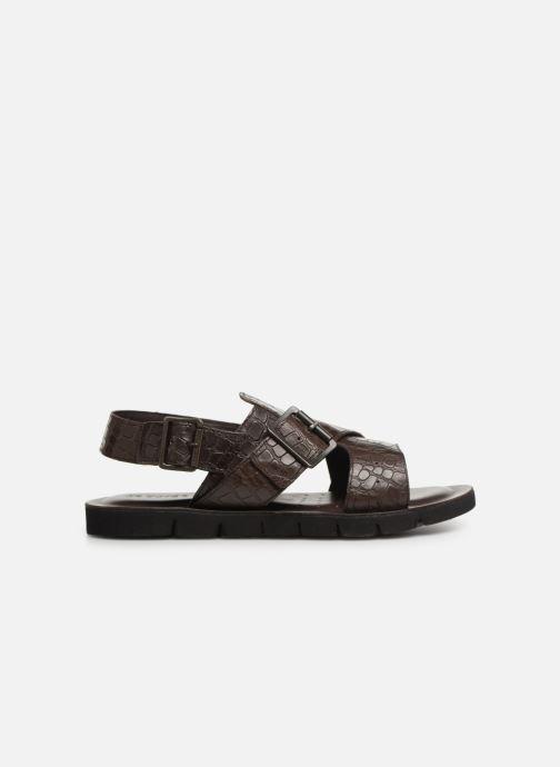 Sandales et nu-pieds Geox U GLENN C U92V2C Marron vue derrière