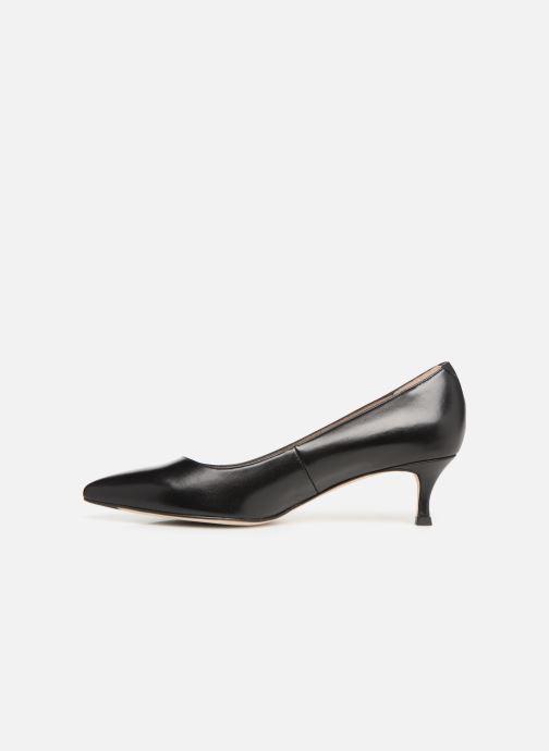 Zapatos de tacón Unisa INDIRA Negro vista de frente