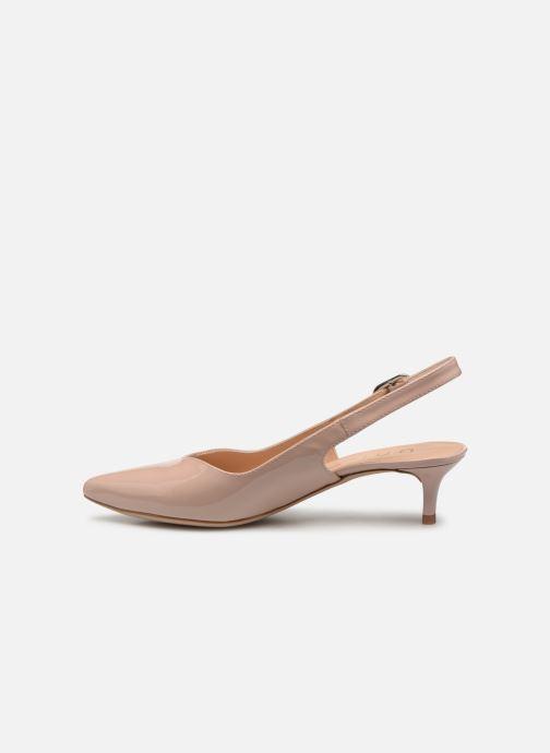 Zapatos de tacón Unisa JOPELIN Beige vista de frente