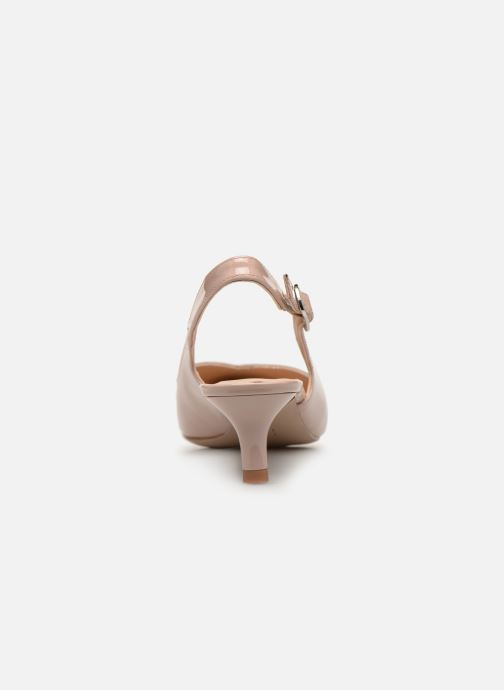 Zapatos de tacón Unisa JOPELIN Beige vista lateral derecha