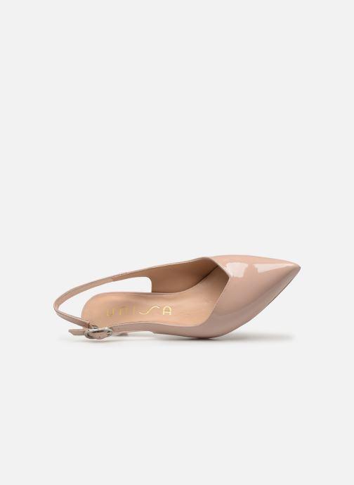 Zapatos de tacón Unisa JOPELIN Beige vista lateral izquierda