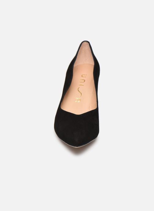 Zapatos de tacón Unisa TORNOS Negro vista del modelo