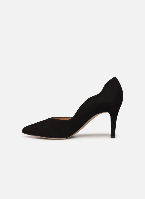 Zapatos de tacón Unisa TORNOS Negro vista de frente