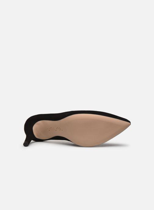 Zapatos de tacón Unisa TORNOS Negro vista de arriba