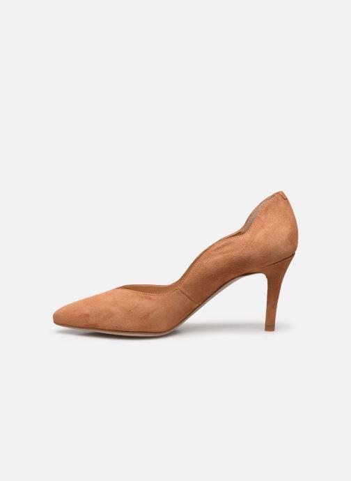 Zapatos de tacón Unisa TORNOS Marrón vista de frente