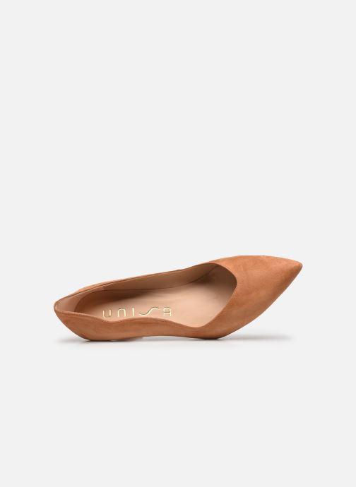 Zapatos de tacón Unisa TORNOS Marrón vista lateral izquierda