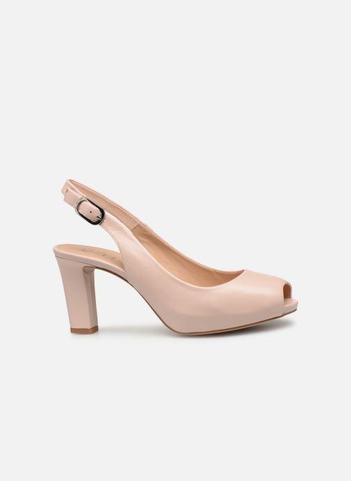 High heels Unisa NICKA CLASSIC Pink back view