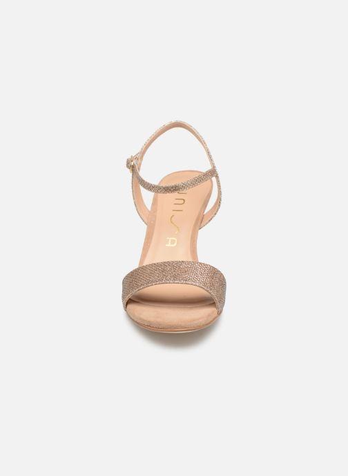 Sandales et nu-pieds Unisa OREA Beige vue portées chaussures