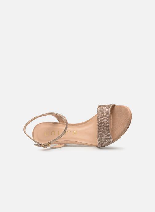 Sandales et nu-pieds Unisa OREA Beige vue gauche