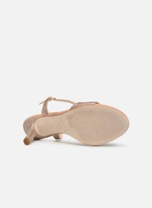 Sandales et nu-pieds Unisa OREA Beige vue haut