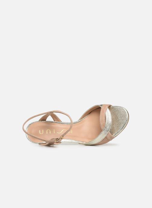 Sandales et nu-pieds Unisa OGROVE Beige vue gauche