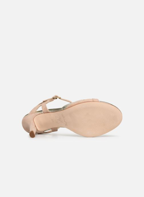 Sandales et nu-pieds Unisa OGROVE Beige vue haut