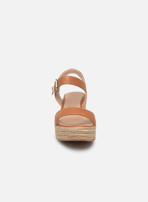 Espadrilles Unisa KALKA STY Marron vue portées chaussures