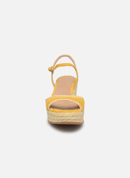 Scarpe di corda Unisa KISSES Giallo modello indossato