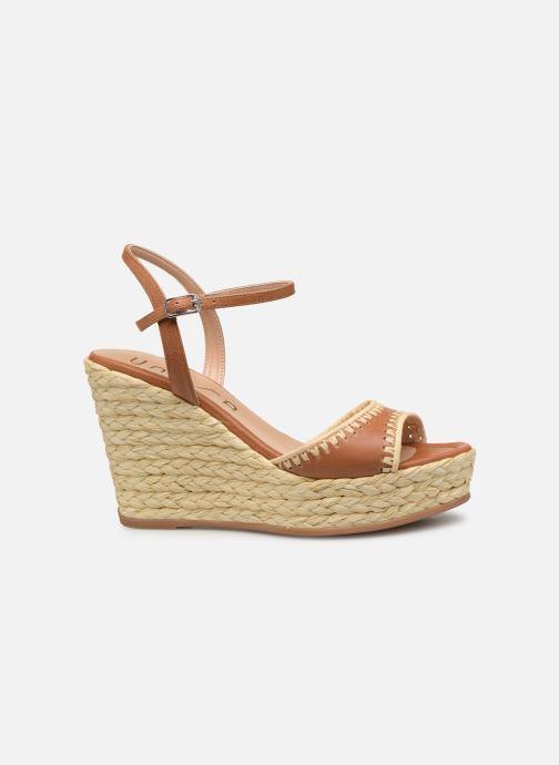 Sandales et nu-pieds Unisa MALLORCA STY Marron vue derrière