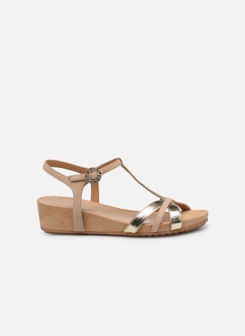 Sandales et nu-pieds Unisa BIRINA Beige vue derrière