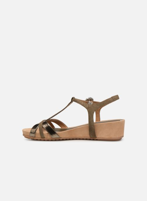 Sandales et nu-pieds Unisa BIRINA Vert vue face