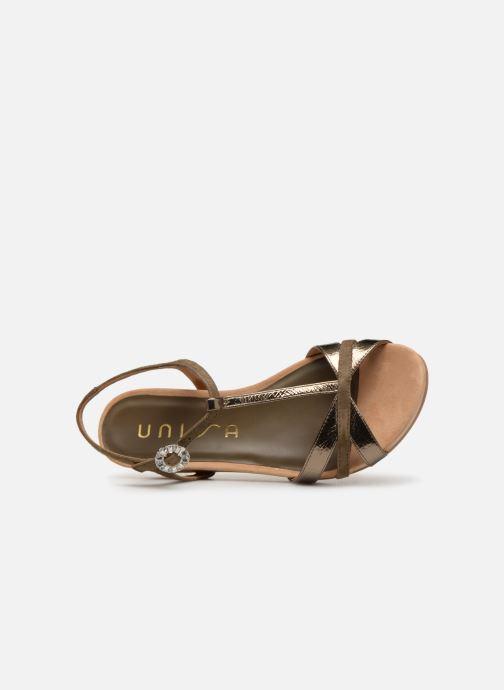 Sandales et nu-pieds Unisa BIRINA Vert vue gauche