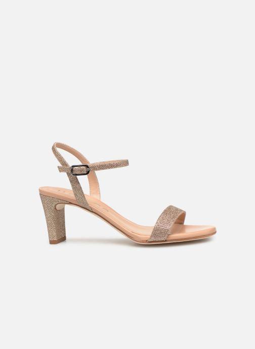 Sandales et nu-pieds Unisa MABRE Or et bronze vue derrière