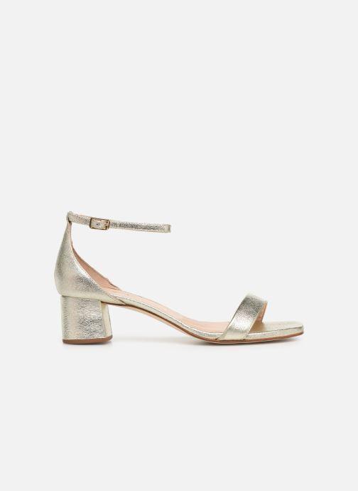 Sandales et nu-pieds Unisa KORELLA Or et bronze vue derrière