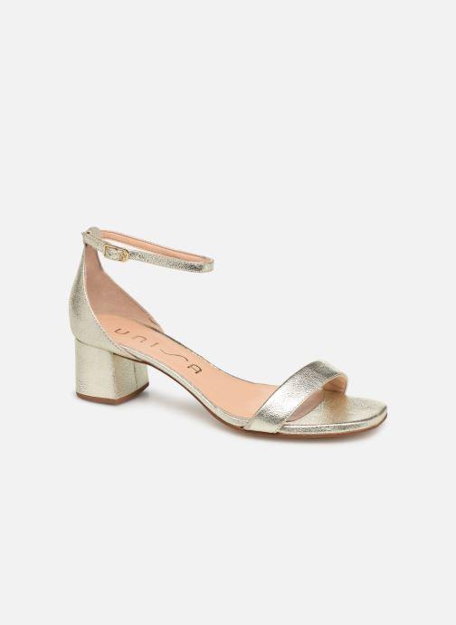 Sandales et nu-pieds Unisa KORELLA Or et bronze vue détail/paire