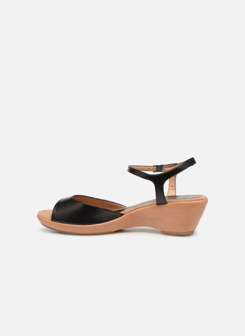Sandales et nu-pieds Unisa ISMO Noir vue face