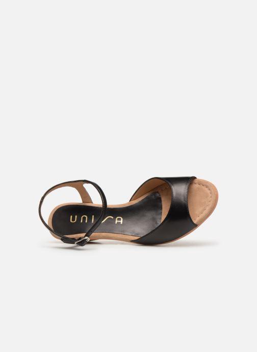 Sandales et nu-pieds Unisa ISMO Noir vue gauche