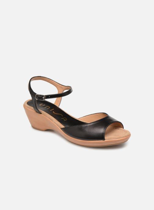 Sandales et nu-pieds Unisa ISMO Noir vue détail/paire