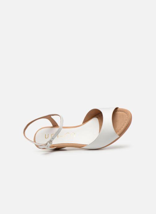 Sandales et nu-pieds Unisa ISMO Blanc vue gauche