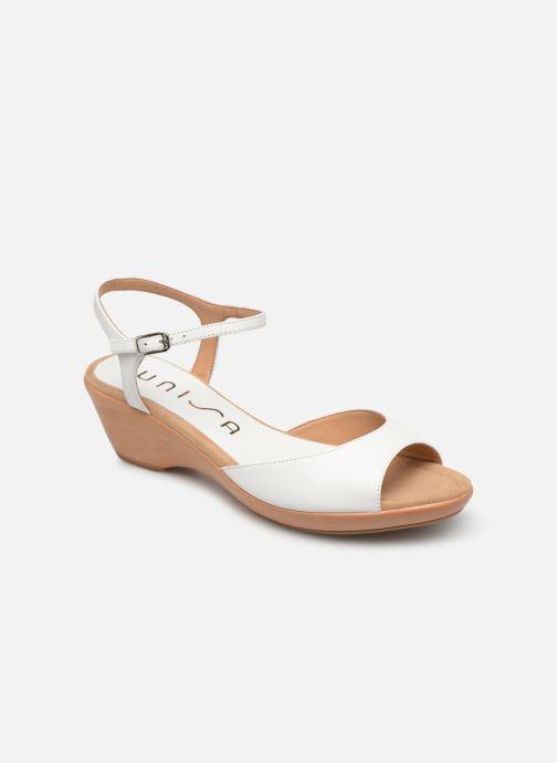 Sandales et nu-pieds Unisa ISMO Blanc vue détail/paire