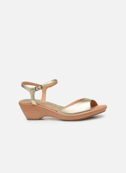 Sandales et nu-pieds Unisa ISMO Or et bronze vue derrière