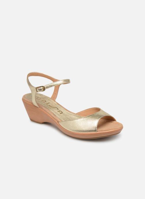 Sandales et nu-pieds Unisa ISMO Or et bronze vue détail/paire