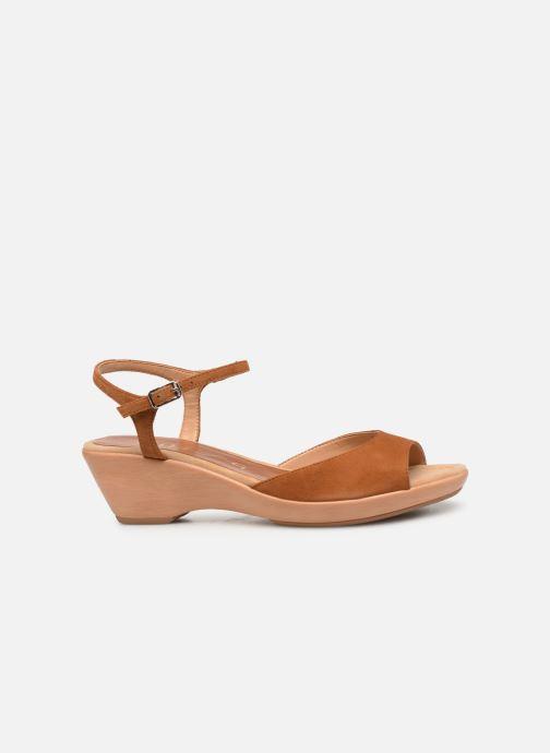 Sandales et nu-pieds Unisa ISMO Marron vue derrière