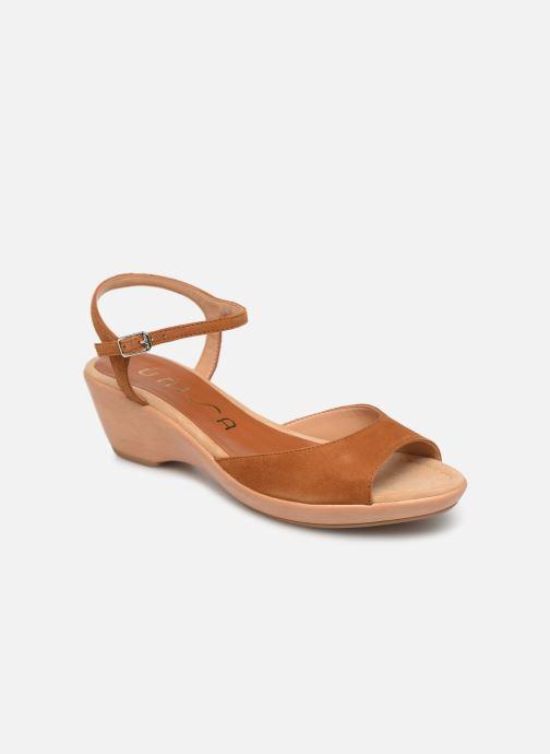 Sandales et nu-pieds Unisa ISMO Marron vue détail/paire
