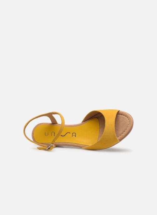 Sandales et nu-pieds Unisa ISMO Jaune vue gauche