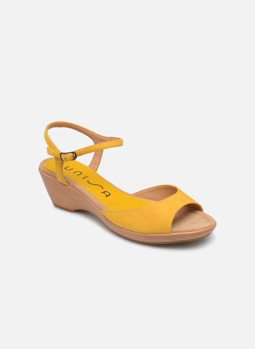 Sandales et nu-pieds Unisa ISMO Jaune vue détail/paire