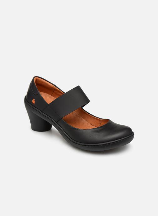 Høje hæle Art Alfama 1445 Sort detaljeret billede af skoene