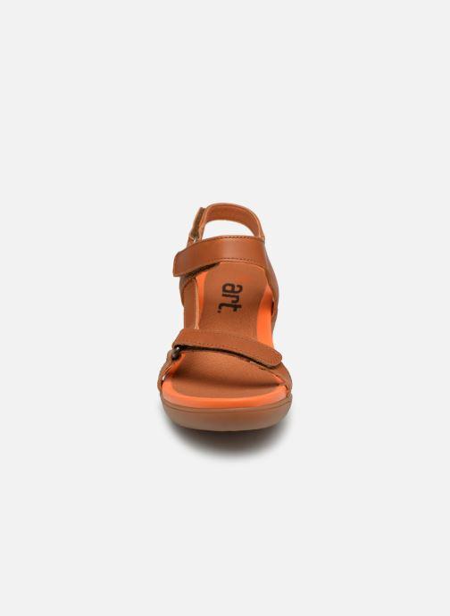 Sandales et nu-pieds Art Alfama 1472 Marron vue portées chaussures