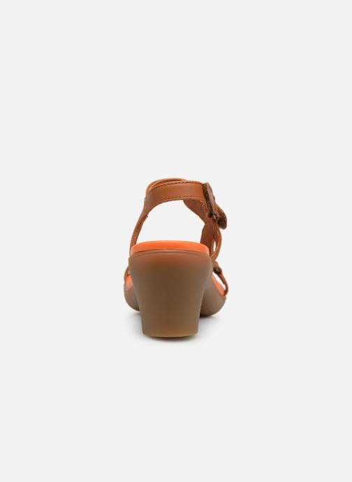 Sandales et nu-pieds Art Alfama 1472 Marron vue droite