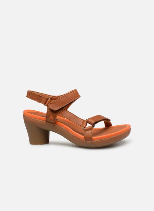Sandales et nu-pieds Art Alfama 1472 Marron vue derrière