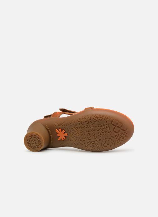 Sandales et nu-pieds Art Alfama 1472 Marron vue haut