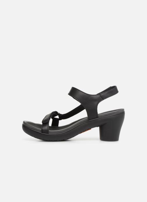 Sandalen Art Alfama 1472 schwarz ansicht von vorne