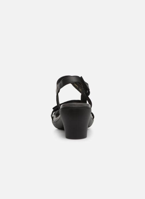 Sandalen Art Alfama 1472 schwarz ansicht von rechts
