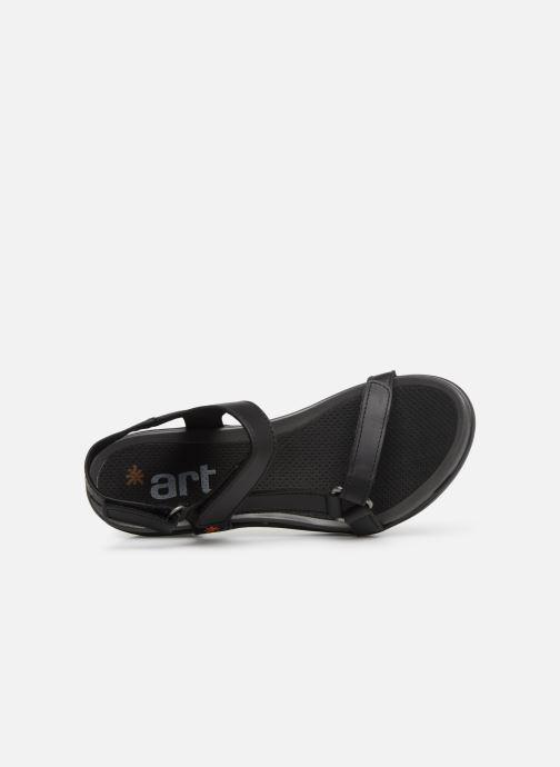 Sandalen Art Alfama 1472 schwarz ansicht von links