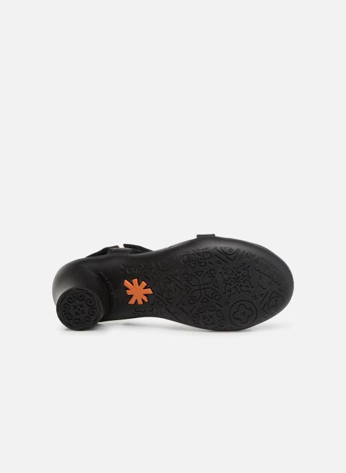 Sandalen Art Alfama 1472 schwarz ansicht von oben
