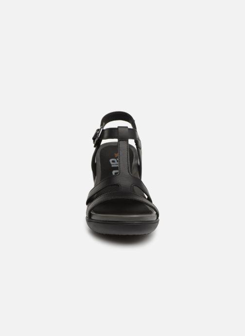 Sandales et nu-pieds Art Alfama 1473 Noir vue portées chaussures